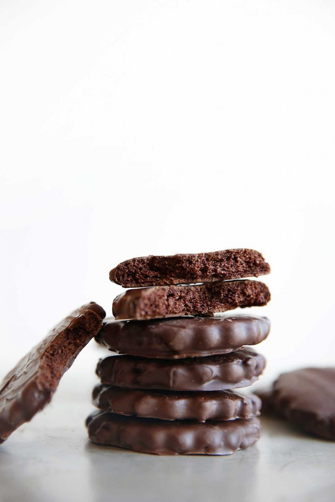 Paleo Thin Mints stacked