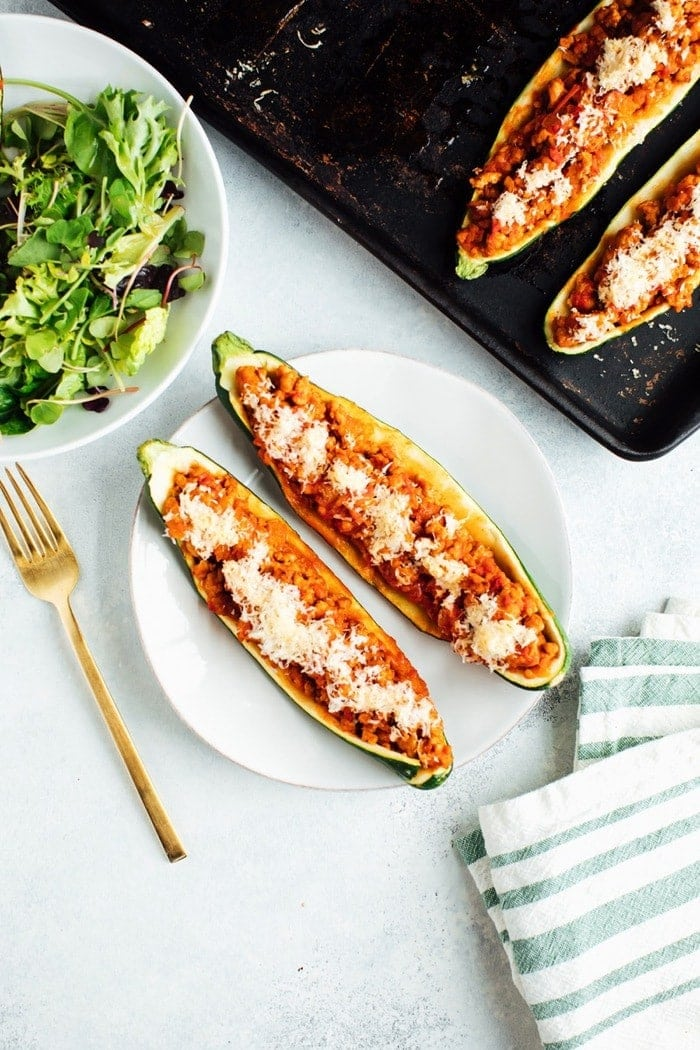 5 Ingredient Turkey Zucchini Boats Eating Bird Food