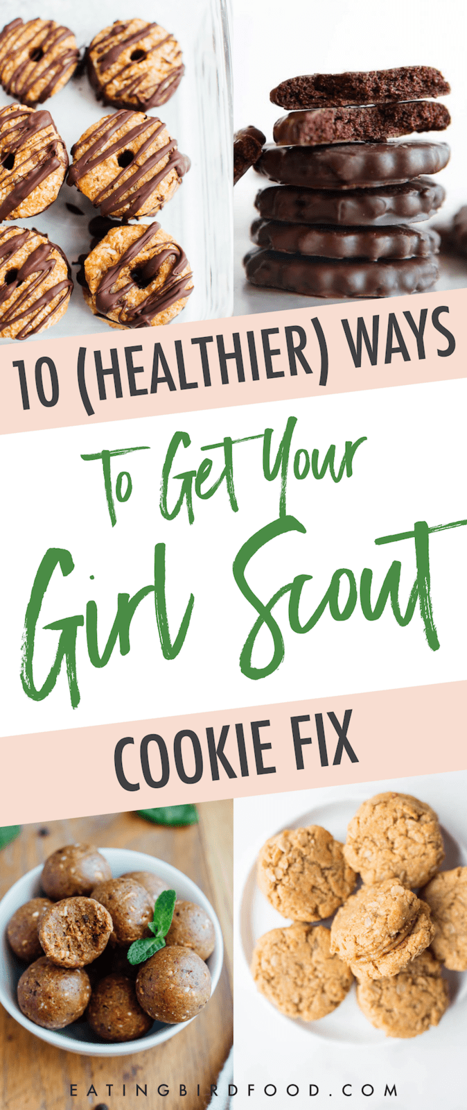 10 Healthy Recipes to Get Your Girl Scout Cookie Fix!
