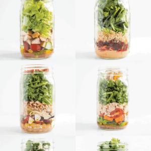 10 Mason Jar Salads to Meal Prep This Summer.