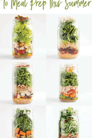 10 Mason Jar Salads to Meal Prep This Summer