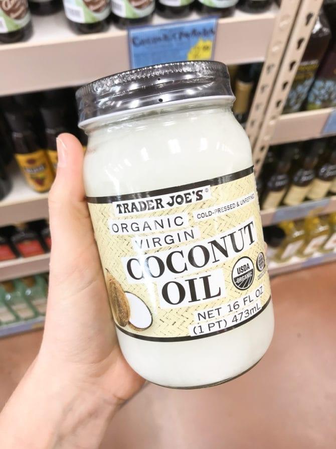 Jar of Organic, Virgin, Coconut Oil.