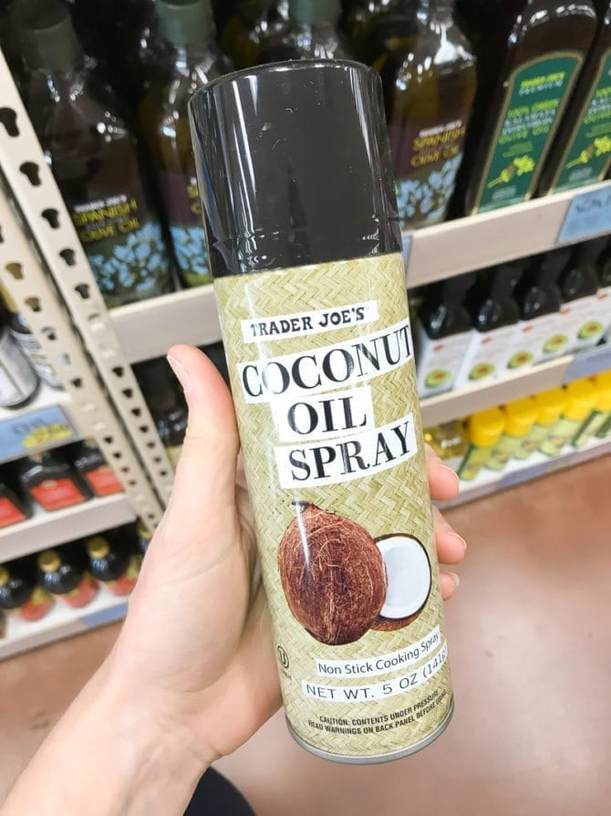 Can of Coconut Oil Spray.