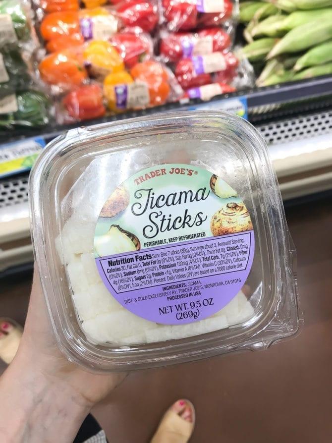 Trader Joes Jicama sticks.