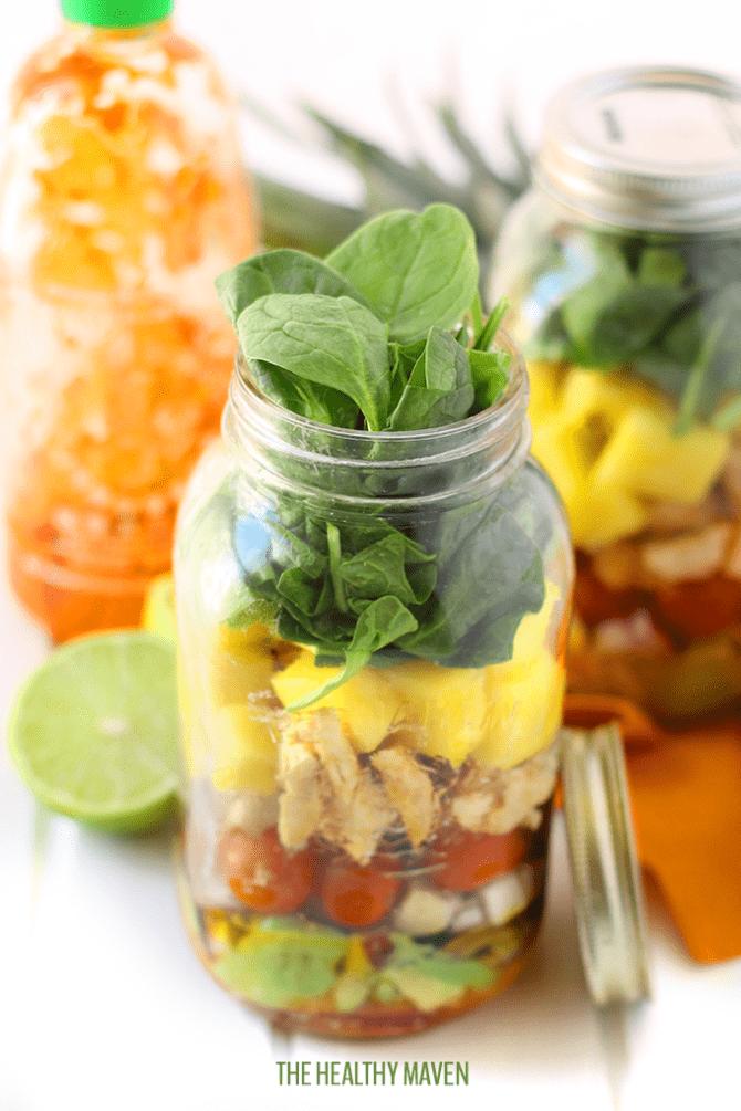 Tropical Sriracha Chicken Salad