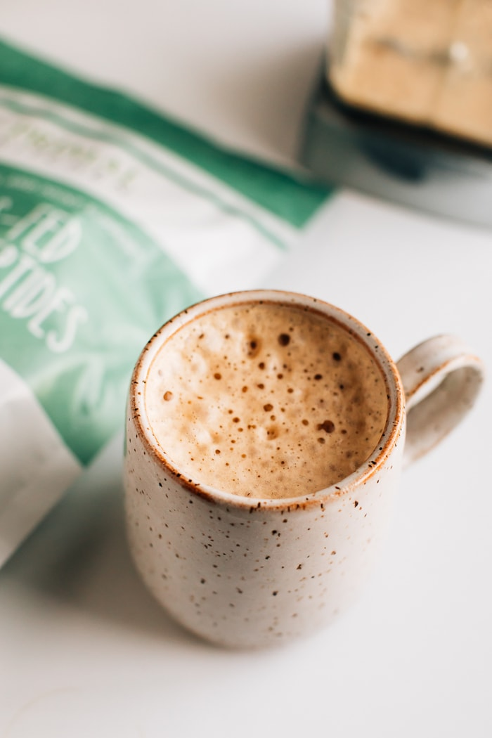 What is Collagen and Should You be Taking It? Coffee with 2 Tablespoons of collagen.