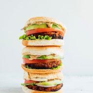 The Best Tempeh Veggie Burger