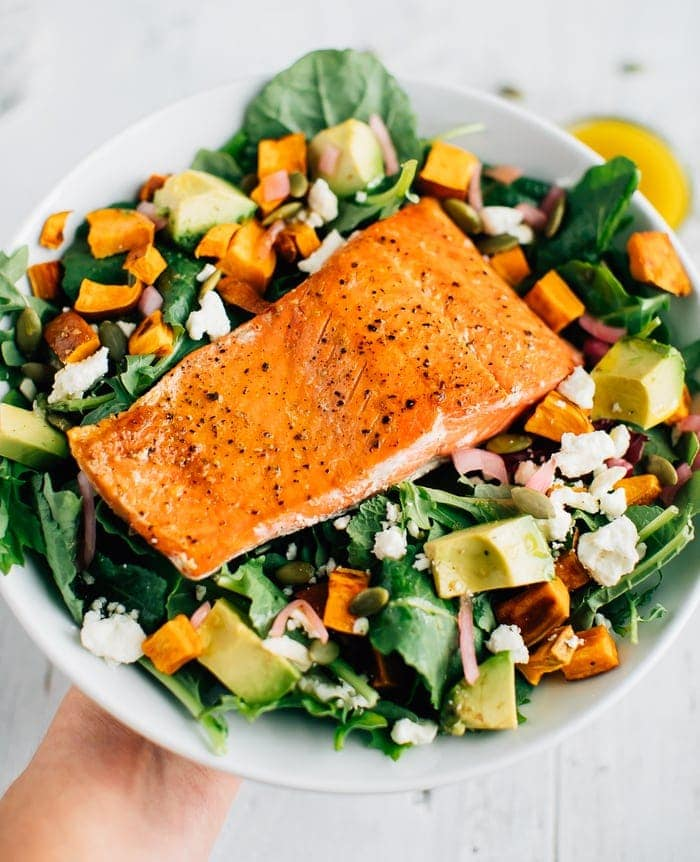 Superfood Salmon Salad | Eating Bird Food