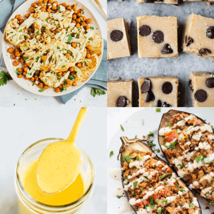 The BEST Healthy Tahini recipes