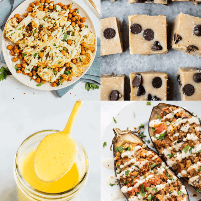 The BEST Healthy Tahini recipes