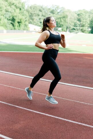 Running HIIT Workout on a Track