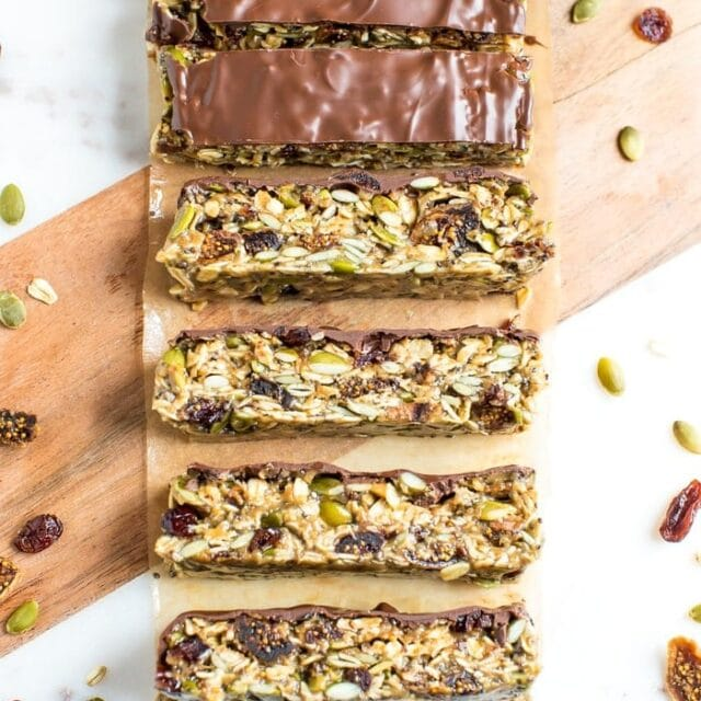 Tahini Fig Bars