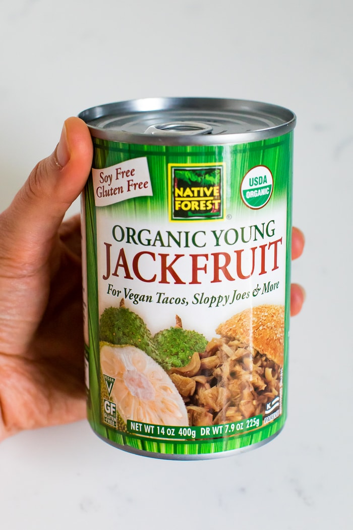 A can of Native Forest Organic Young Jackfruit.