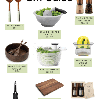 Gift Ideas for Salad Lovers