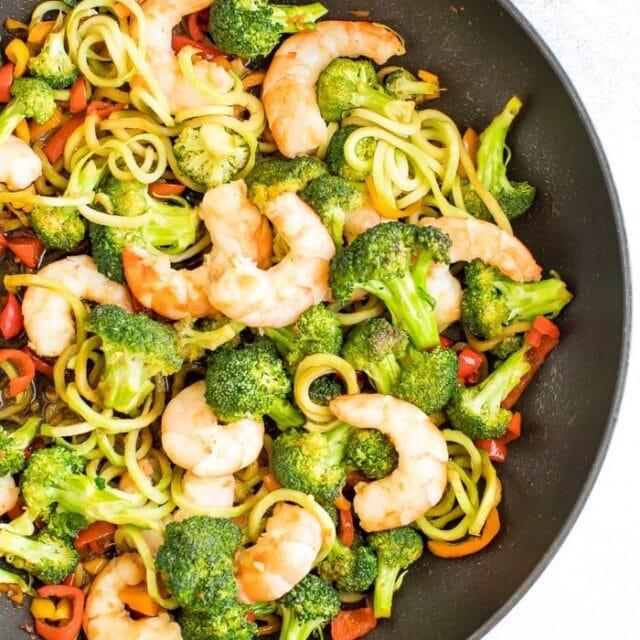 Broccoli Noodle Stir-Fry