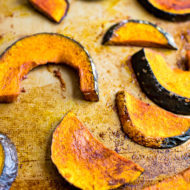 Cinnamon Maple Roasted Kabocha Squash
