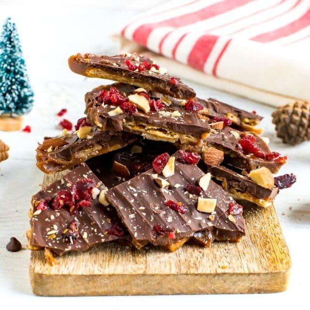 Healthier Christmas Crack (Still Insanely Addictive)