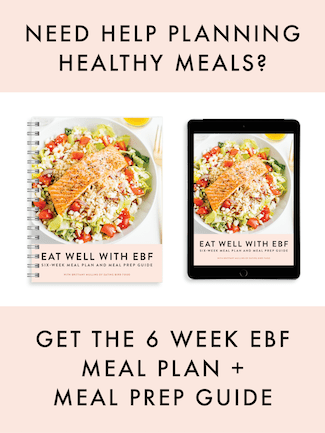 EBF 6 Week Meal Plan