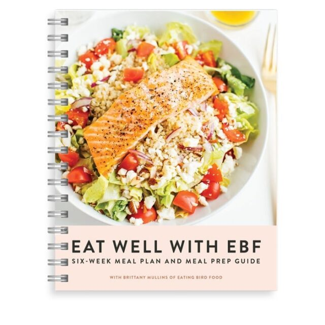 Eat Well With EBF - 6 Week Meal Plan