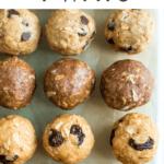 protein balls 4 ways