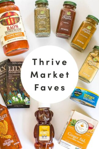 Thrive Market Review + Favorite Items to Buy