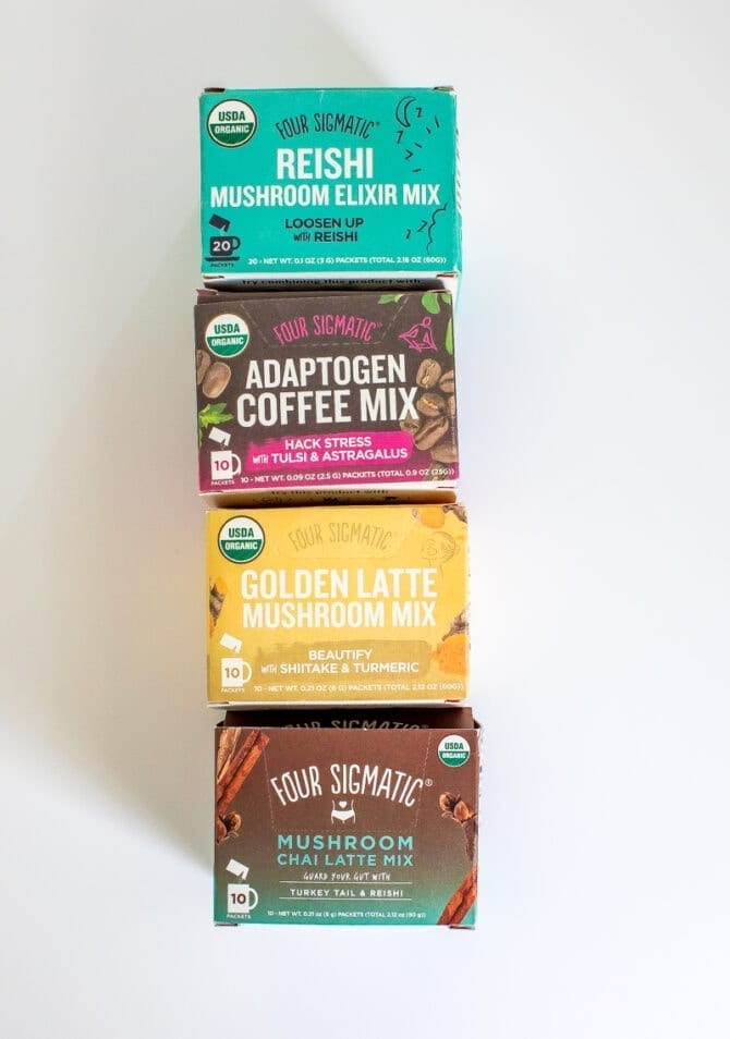 Four Sigmatic elixers