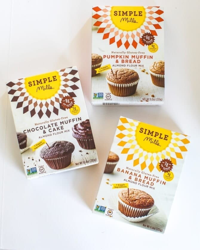Simple mills muffin mix.