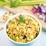 Healthy Curry Chicken Salad