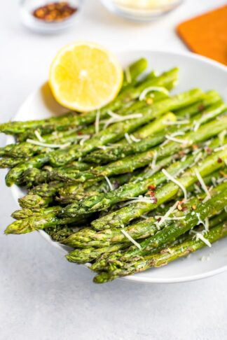 Roasted Asparagus + 3 Topping Ideas