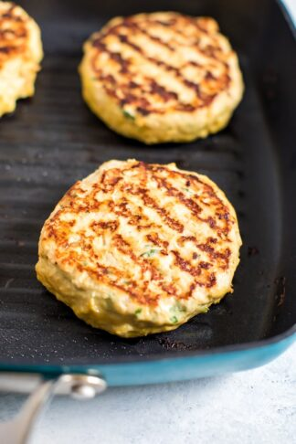 Cilantro Lime Chicken Burgers