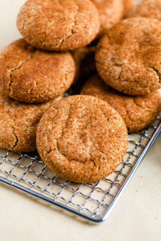 Gluten-Free Snickerdoodles with Almond Flour
