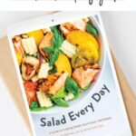 Salad Every Day ebook on an iPad.