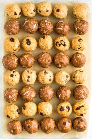 Easy No Bake Protein Balls - 4 Ways