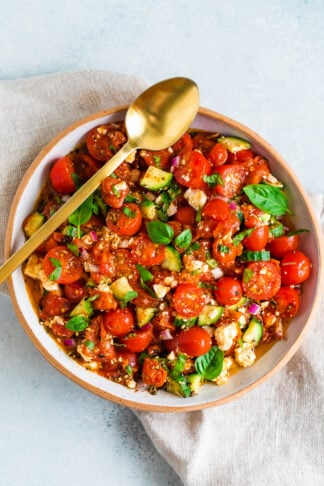 Roasted Tomato Salad