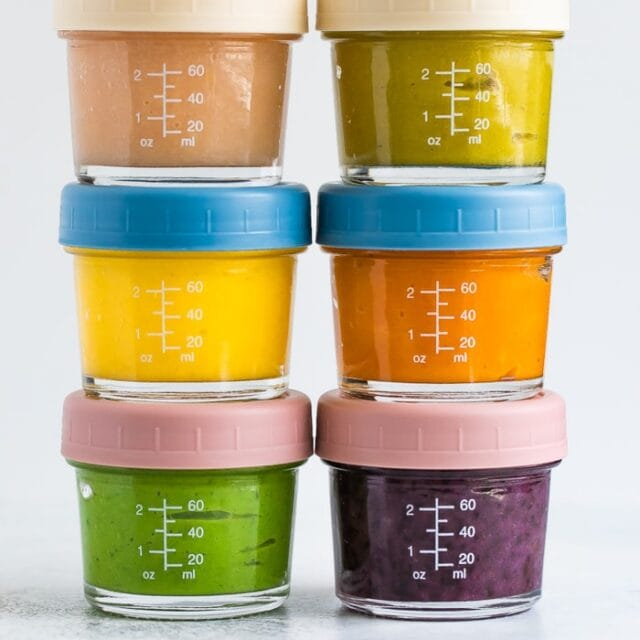 6 Baby Food Combinations (Stage 2)