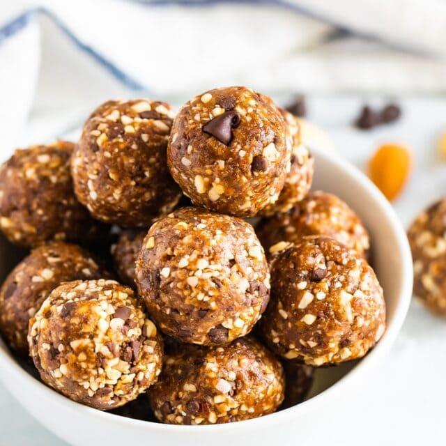 Coconut Chocolate Chip Energy Balls