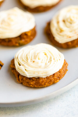 Pillowy Soft Pumpkin Cookies