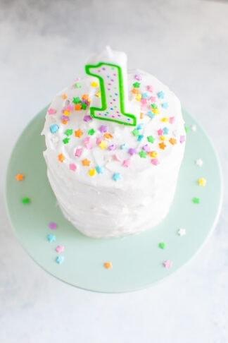 Healthy Smash Cake
