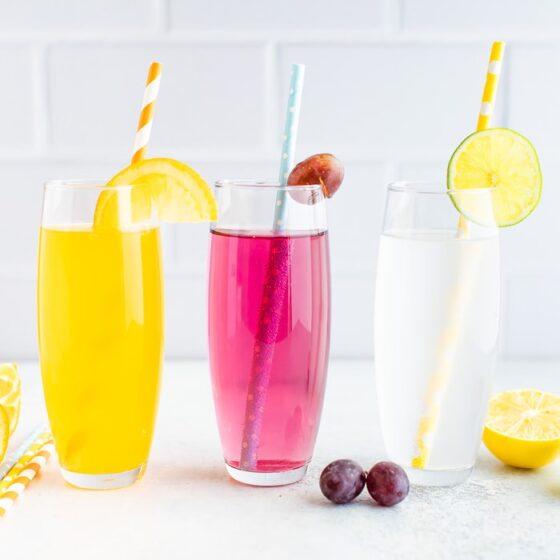 "Homemade ""Soda"" with Electrolytes"