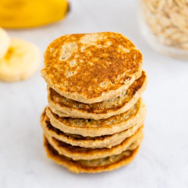 Banana Pancakes for Babies