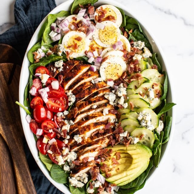 Blackened Chicken Cobb Salad