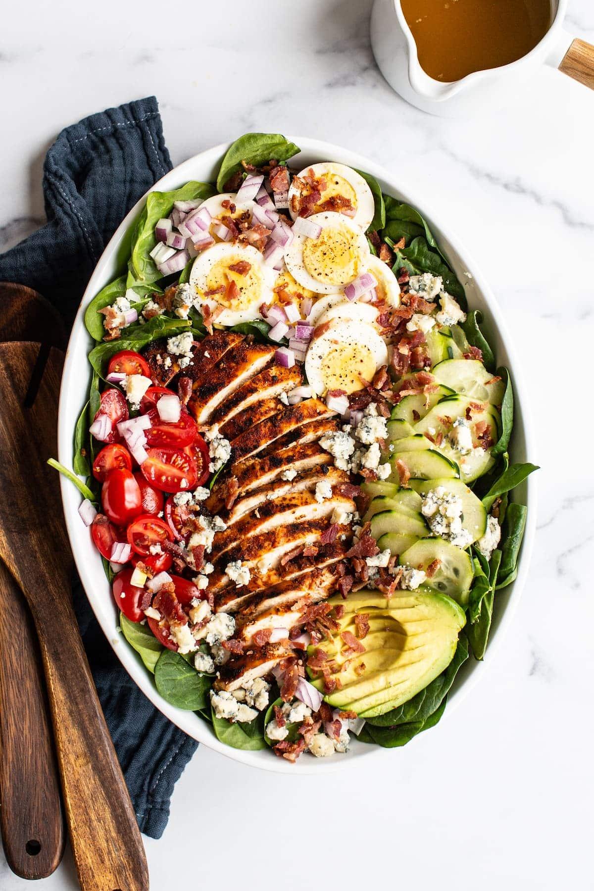 11+ Blackened Chicken Cobb Salad Kollektion