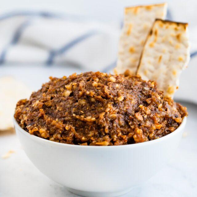 Bubbie's Charoset with Raisins and Dates