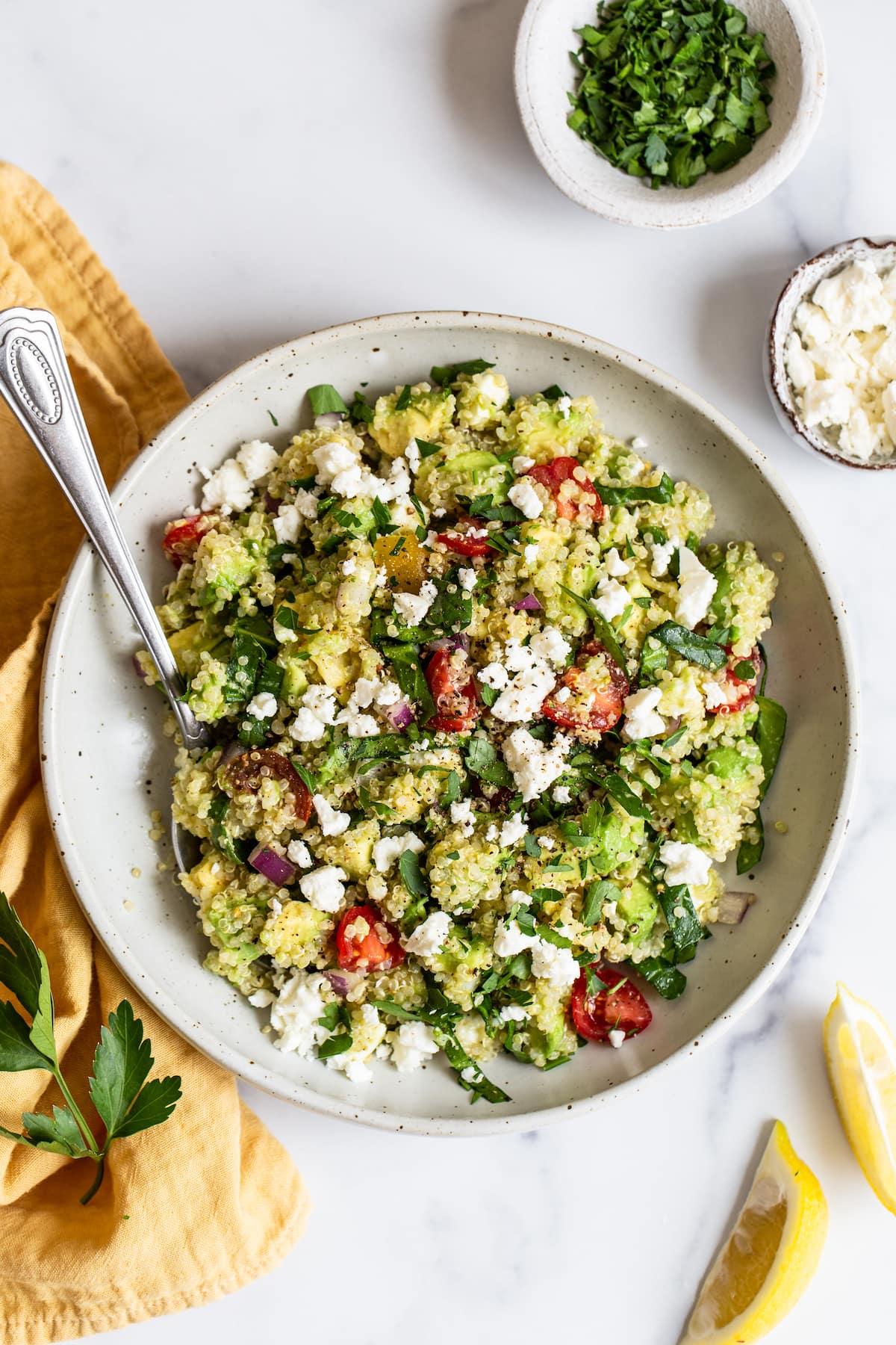 Salad Recipes Using Quinoa
