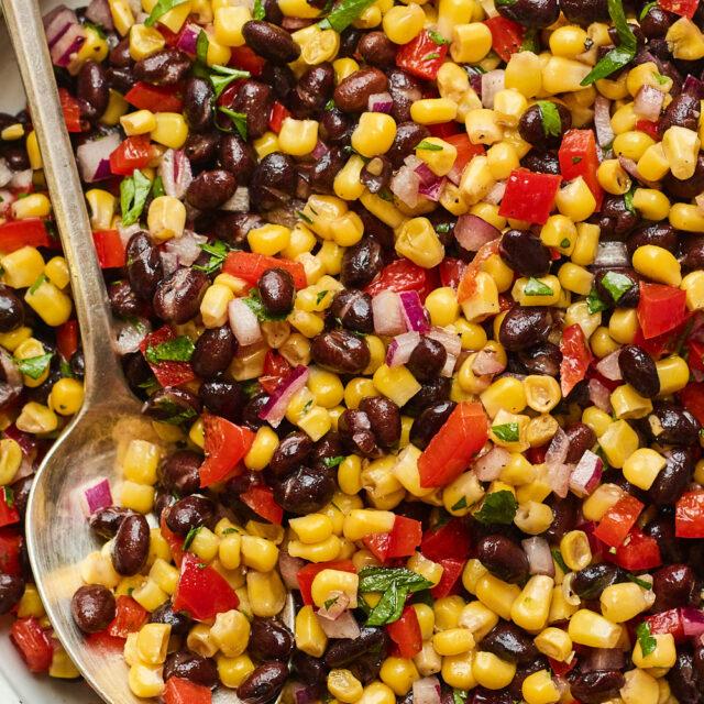 6 Tasty Salads with Corn