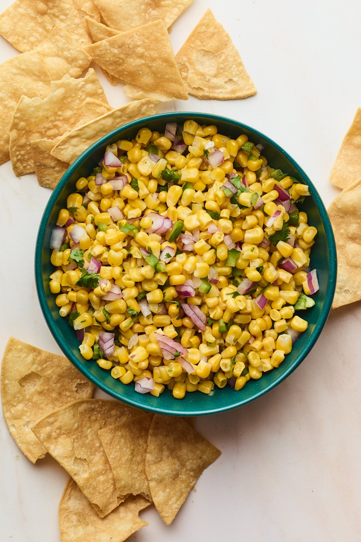 Easy Corn Salsa (Chipotle Copycat)