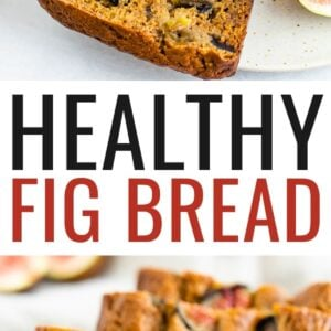 Slices of fig bread. Bread stuffed with fresh figs.