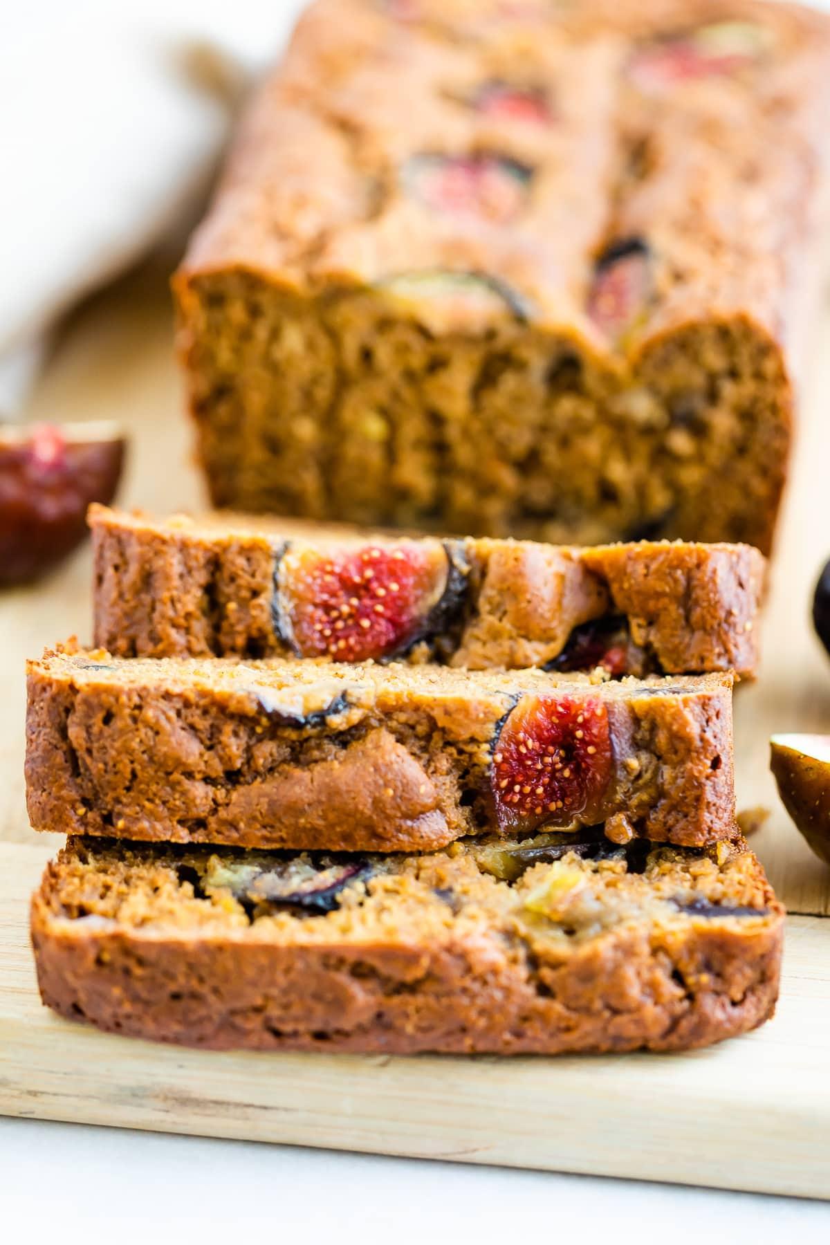 Healthy Fig Bread